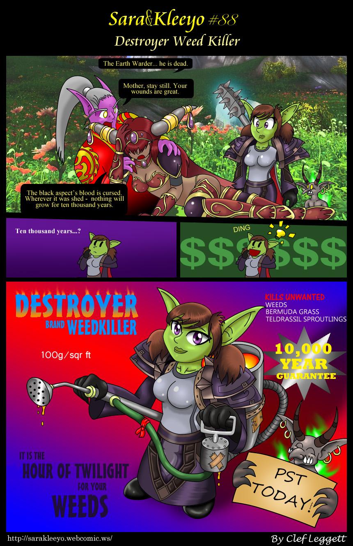 Destroyer Weed Killer